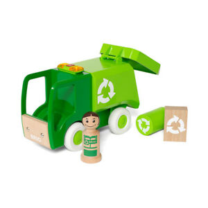 Brio 30278 Garbage Truck with Light and Sound From 18 Months New! #