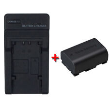 Battery&Charger for JVC Everio GZ-MS230 GZ-MS230AU GZ-MS230BU GZ-MS230RU Camera