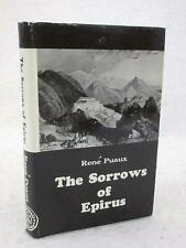 Rene Puaux THE SORROWS OF EPIRUS 1963 Argonaut Inc., Chicago 2nd Edition HC/DJ