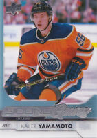 17-18 Upper Deck Kailer Yamamoto Clear Cut Young Guns Rookie Oilers 2017 Acetate