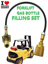 FILL FORKLIFT GAS LPG  BOTTLES  REGO ADAPTER PROPANE 2METRES PIPE @@@@@