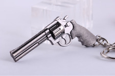 Car Gun Keychain Military Weapon Model Revolver Pistol Pendant accessories