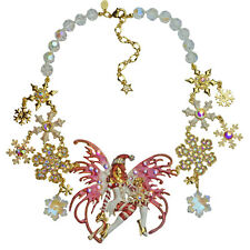 KIRKS FOLLY CANDY CANE FAIRY SNOWFLAKE DREAM NECKLACE  ~~NEW RELEASE~~ CHRISTMAS