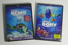 Finding Nemo & Finding Dory double feature 2-disc boxset Brand New!