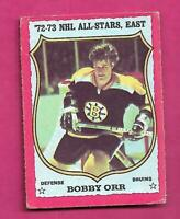 1973-74 OPC  # 30 BRUINS BOBBY  ORR ALL STARS VG CARD (INV# C4849)