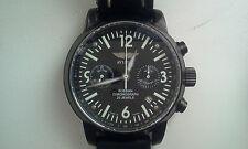 Russe Soviétique Chronographe Aviator Poljot 3133 montre boîtier en acier