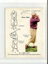 (Jc5667-100)  PLAYERS,GOLF,NO.1 IRON SHOT,PERCY ALLISS,1939,#2