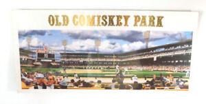 "Old Comiskey Park Bill Purdom ""Comiskey Park Continuum""  Artwork 17"" x 8"""
