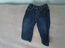 Baby Boys 12-18 Months - Blue Denim Jeans, Lined - Gap