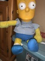 Vintage Bart Simpson Ace Inc. Plush 10inch Life Size. Plastic And Stuffed Mixed