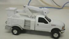1/64 ERTL custom Ford f350 bucket truck farm toy dcp display see more pics