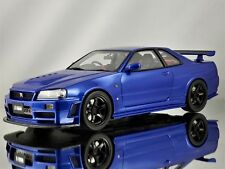 Otto Mobile Nissan Skyline GT-R R34 Nismo Z-Tune Spec Metallic Blue 1:18