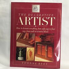 The Decorative Artist by Yvonne Rees HC DJ illustrated Free Shippping