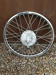 Suzuki Tc100 Front Wheel+Brake Plate