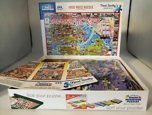 White Mountain Puzzles Nantucket MA - 1000 Piece Jigsaw Puzzle