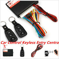 Car Auto Remote Central Kit Door Lock Locking Vehicle Keyless Entry System New