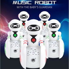 Baby Educational Induction Robot Intelligent Tumbler Toddler Kids Toy Gift Sound