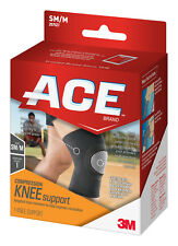 ACE COMPRESSION KNEE SUPPORT SM/M SIZE: SMALL / MEDIUM Help Improve Circulation