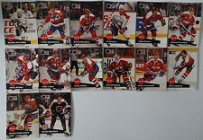 1991-92 Pro Set Series 1 Washington Capitals Team Set of 14 Hockey Cards