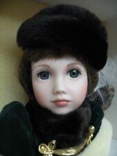 "18"" Catherine Rose by Janet Johnson~Franklin Heirloom victorian ~ porcelain doll"