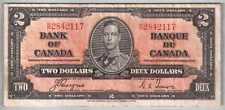 13-00307 # CANADA   BANK OF CANADA, 2 DOLLARS, 1937, F+
