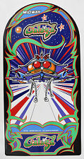 GALAGA Art Package with Marquee, CPO, Side Art & Front Art Midway Logo - PERFECT