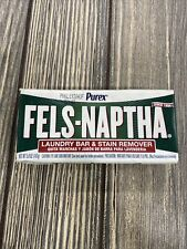 Fels Naptha Laundry Bar Stain Remover Heavy Duty Soap Cleaning Product 5.0 Ounce