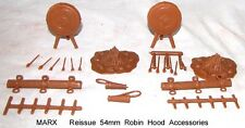 Marx reissue set of 54mm Robin Hood castle accessories      G