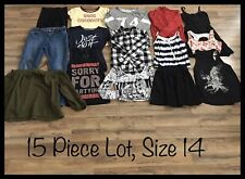 Girls Clothing Lot, 15 Items, Size 14, SO, GB Girl, Arizona, Old Navy, Nike
