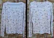 Tee shirt manches longues Vanessa Bis, made in France, polyester, t.4