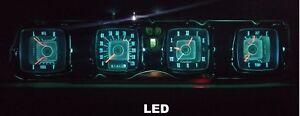 1968-1971 Lincoln Mark III Gauge Instrument Cluster Complete LED bulb upgrade!