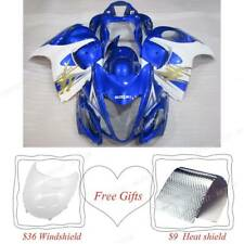 Plastic Motor Body Kit Hulls Cowling For Suzuki GSXR1300 Hayabusa 2008-2019 Blue