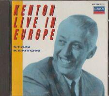 C.D.MUSIC  E443   KENTON LIVE IN EUROPE : STAN KENTON    CD