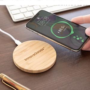 CARICATORE WIRELESS CARICABATTERIE QI BASE PER SAMSUNG S7 S8 S9 S10 IPHONE X XS