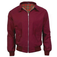 Classic Harrington Jacket - Made in the UK, British Sizes, in 5 Colours!