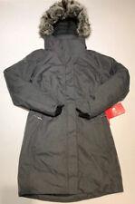 New The North Face Womens Small TNF Grey Heather Arctic Parka ll Jacket