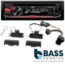 Audi A4 1994-1999 JVC Bluetooth USB CD MP3 AUX iPhone Android SWC Car Stereo Kit