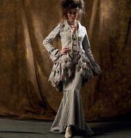 M6770 jacket bustle skirt SEWING PATTERN, McCalls steampunk historical 4-20