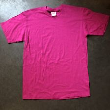 NEW Supreme NY Blank Hot Pink Kmart Box Logo Ready Short Sleeve T Shirt Tee Sz M
