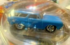 THE ORIGINAL MUSCLE MACHINE - 1965 CHEVY CHEVELLE WAGON - BLUE - REAL RUBBER