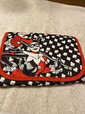Dc Comics Original Harley Quinn Travel Make Up Bag
