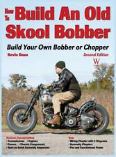 How to Build an Old Skool Bobber Book by Baas~Engine~Frame~Parts~NEW HARDCOVER!