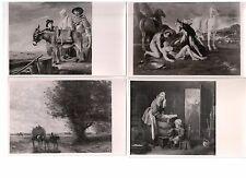 Collection Sepia Pictures Postcard Painting famous artist decor art vintage rare