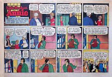 Little Orphan Annie by Gray - large half-page color Sunday comic - Feb. 27, 1944