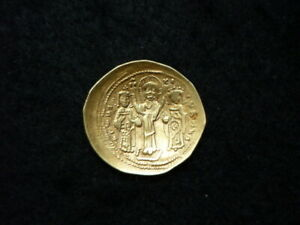Monnaie OR Romain IV Histamenon Nomisma, 1068-1071 Constantinople.