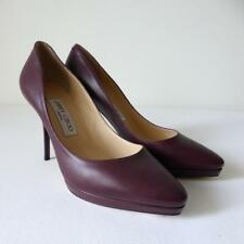 JIMMY CHOO Leather Shoes Pumps NWT rrp $1233 High Heels Made in Italy Size 37.5