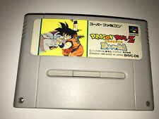 Dragon Ball Z Super Saiya Densetsu Super Nintendo SFC Super Famicom