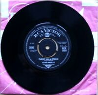 "NM/NM Elvis Presley Puppet On A String / Tell Me Why (RCA 1489) 7"" Vinyl 45"