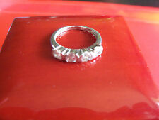 Cz Ring Vintage Sterling Silver