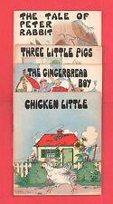 Platt & Munk Co. Illustrated Children's Books Lot Of Four